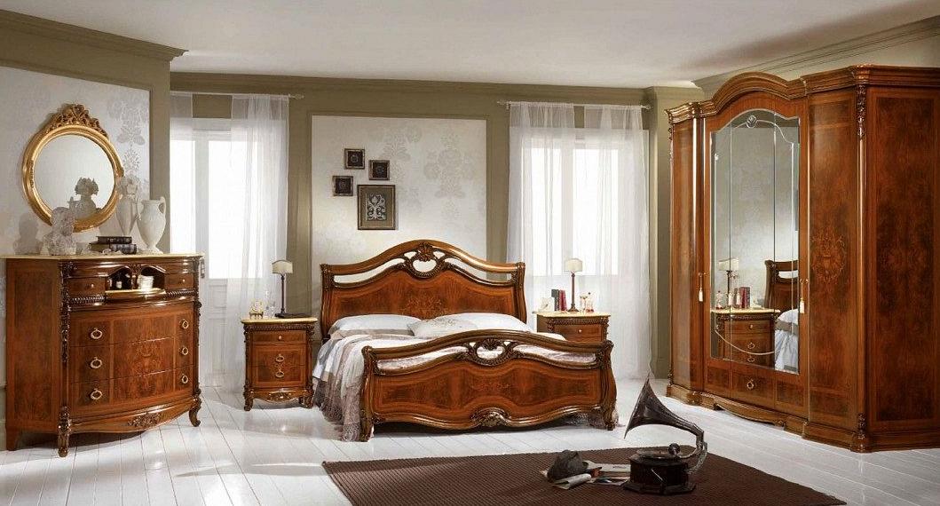спальня италия BERNINI NOCE