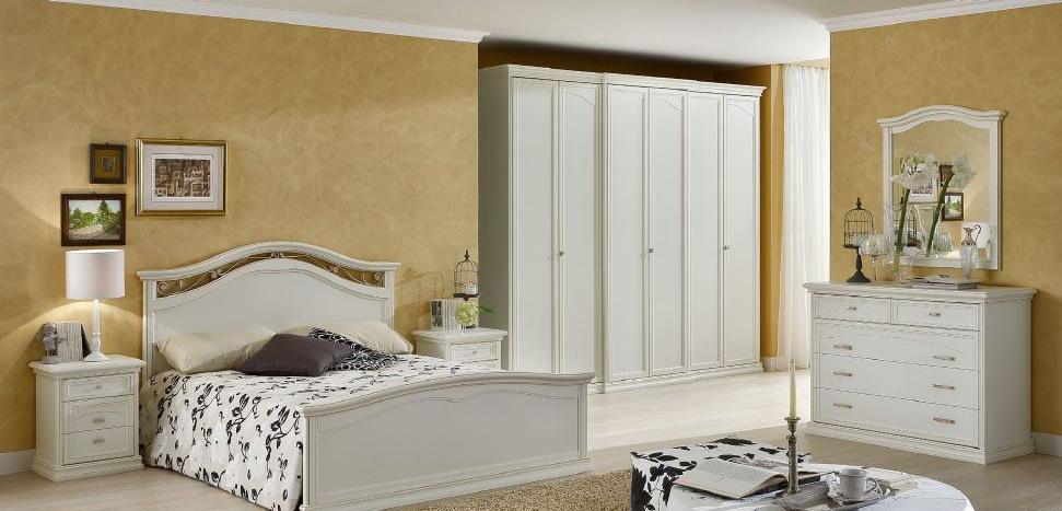 Dal cin: Спальня Ambra bianco